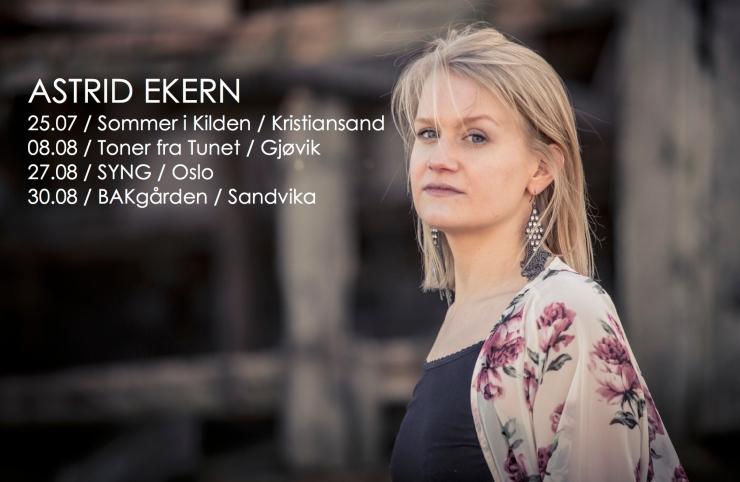 Konserter Astrid Ekern sommer15
